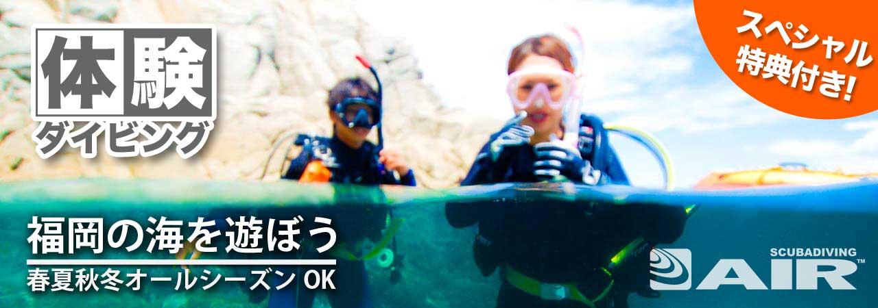 福岡体験ダイビング