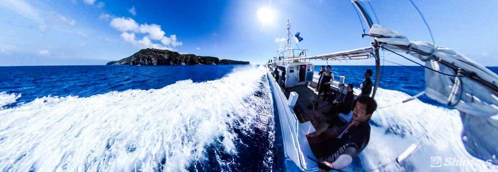 ダイビング遠征のイメージ